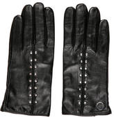 Michael Kors Leather Embellished Gloves