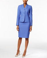 Le Suit Jacquard Skirt Suit