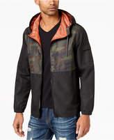 American Rag Men's Pattern-Blocked Windbreaker, Created for Macy's