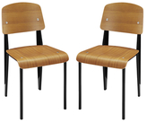 Modway Cabin Dining Side Chairs (Set of 2)