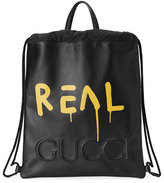 Gucci GucciGhost Drawstring Backpack