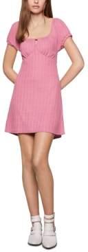 BCBGeneration Empire-Waist Mini Babydoll Dress