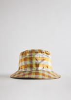 Coa COA Women's Reversible Bucket Hat in Iridescent Combo | Silk