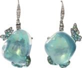 Arunashi Water Opal Butterfly Earrings