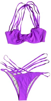 L'Agent by Agent Provocateur Purple Synthetic Swimwear