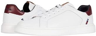 Ben Sherman Ollie Trainer (White/Navy) Men's Shoes