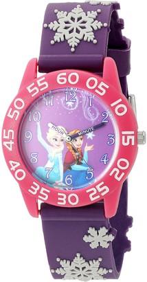 Disney Girl's 'Frozen' Quartz Plastic Watch