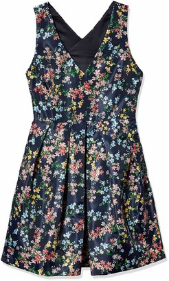 Erin Fetherston Erin Women's Floral Fit and Flare Devon Dress