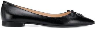 Prada Flat Pointed Toe Ballerinas