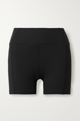YEAR OF OURS Technical Stretch-knit Shorts - Black