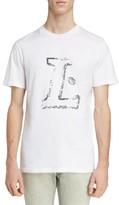 Lanvin Men's L Graphic T-Shirt