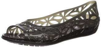 Crocs Women's Isabella Jelly II Ballet Flat