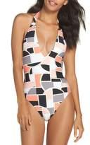 Trina Turk Women's Disco Deco One-Piece Swimsuit