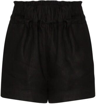 BONDI BORN Universal Linen Shorts