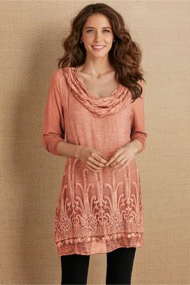 Women Silk Beaux Arts Tunic & Cami