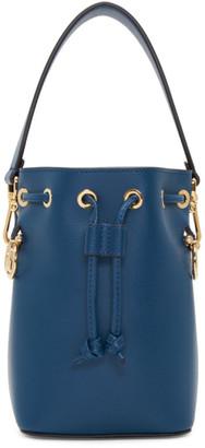 Fendi Navy Mini Mon Tresor Bucket Bag