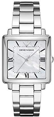 Emporio Armani Womens Quartz Watch with Stainless Steel Strap AR11065