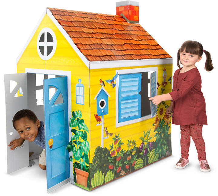 Melissa & Doug Cottage Playhouse