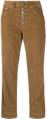 Dondup Corduroy Cropped Trousers