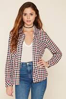 Forever 21 FOREVER 21+ Gingham Plaid Shirt