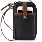 The Sak Iris North South Leather Smartphone Crossbody Bag