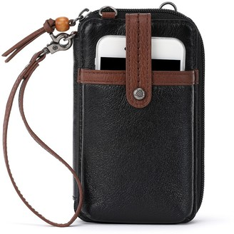 The Sak Iris North South Leather Smartphone Cro ssbody Bag