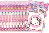 Pure Smile JAPAN Pure Smile scent ten sets of Hello Kitty oil-in point pad Sakura