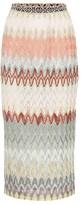 Missoni Striped knit midi skirt