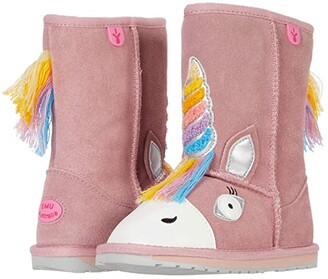 Emu Magical Unicorn (Toddler/Little Kid/Big Kid) (Pale Pink) Girl's Shoes