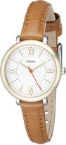 Fossil Women's ES3801 Jacqueline Stainless Steel Watch with Narrow Band