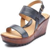 Børn Women's 'Tide' Leather Wedge Sandal