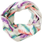 Crazy 8 Feather Infinity Scarf