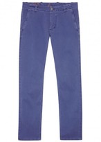 Dockers Blue Stretch Cotton Chinos