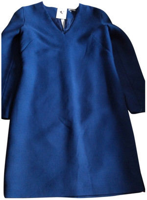 Cacharel Blue Wool Dresses