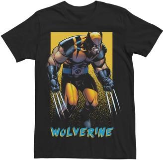 Wolverine Men's Marvel X-Men Pop Poster Tee