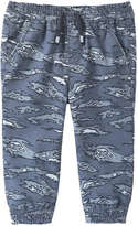 Joe Fresh Baby Boys' Print Woven Jogger, Dusty Blue (Size 18-24)