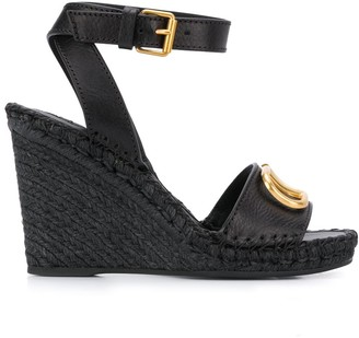 Valentino VLOGO wedge sandals