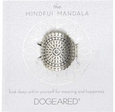 Dogeared Mindful Mandala Center Square Ring