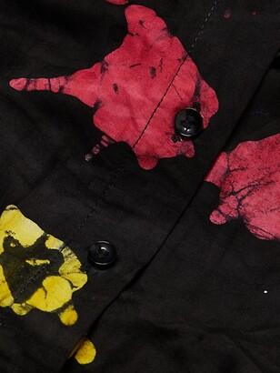 Busayo Tomi Puff-Sleeve Blouse