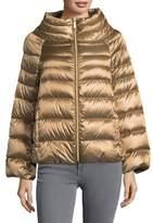 Sam Edelman Zip Front Puffer Jacket