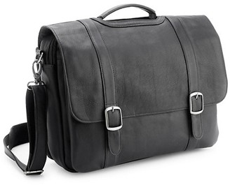 "Royce New York Leather 15"" Laptop Satchel Brief"