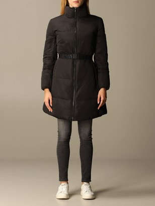 Emporio Armani Long Nylon Down Jacket