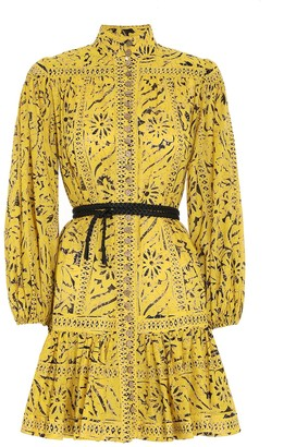 Zimmermann Lulu Drop Waist Mini Dress