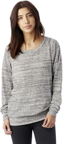 Alternative Slouchy Space-Dye Eco-Jersey Pullover