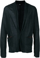 Kolor welt pockets cardigan - men - Wool/Nylon - 3