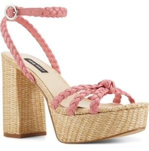 Nine West Rylin Espadrille Platform Sandals Women's Shoes