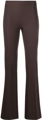 Blanca Vita Fitted Flare Trousers