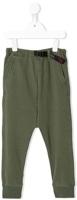 Denim Dungaree Jersey Track Pants