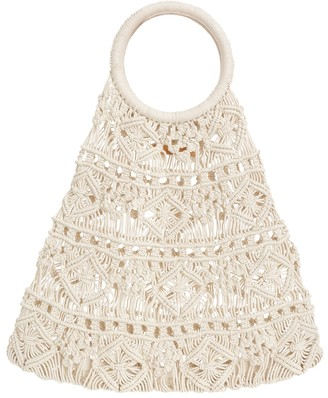 Zimmermann Macrame Natural Shopper