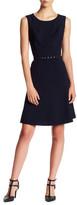 Nine West Sleeveless Belted Dress